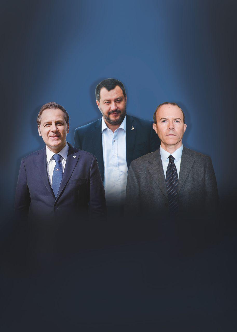 In Edicola sul Fatto Quotidiano del 16 Luglio: Salvini ostaggio di Savoini & Siri. Lega e scandali