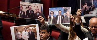 Fondi russi alla Lega, Salvini non risponde alla richiesta di informativa. Il Pd occupa commissioni: seduta sospesa