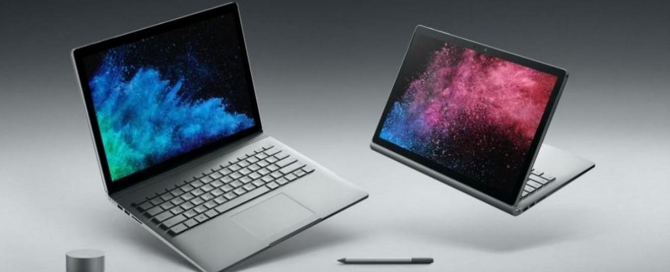 Notebook Surface Book 2 bloccati dall'aggiornamento del sistema operativo, Microsoft ferma tutto
