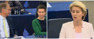 """Ue, von der Leyen: """"Ridurre emissioni di Co2 del 50-55% entro il 2030, sì a legge europea su cambiamento climatico"""""""