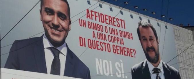"""Adozioni a distanza, ActionAid sfida Salvini e Di Maio. Lo spot: """"Affideresti un bimbo a una coppia del genere? Noi sì"""""""
