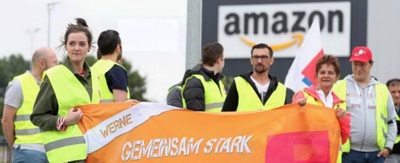 Amazon, dipendenti di tutto il mondo in sciopero nei Prime Day. Chiedono equità salariale e rispetto dei diritti