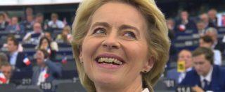 "Commissione Ue, Ursula von der Leyen eletta per soli 9 voti. Salvini attacca: ""Gravissimo asse Renzi-5 Stelle"""