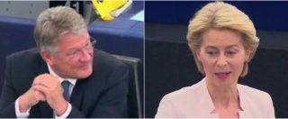 """Ue, Von der Leyen contro l'euroscettico tedesco Meuthen (AfD): """"Sollevata di non avere suo sostegno"""""""