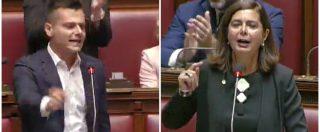 Camera, Toninelli critica Romano e scoppia la bagarre. Rosat