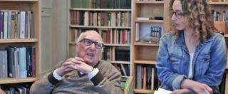 """Andrea Camilleri, quando lo scrittore disse ai ragazzi del liceo: """"Tenete lontani Renzi e il M5s dal vostro avvenire"""""""