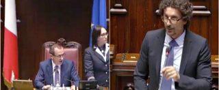 """Camera, Toninelli critica Romano e scoppia la bagarre. Rosato lo richiama: """"Faccia il ministro e non si occupi di altro"""""""