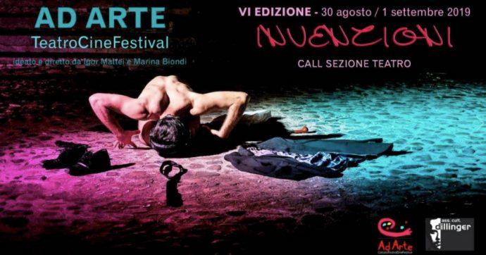 Adarte, annullata la sesta edizione del Festival dedicato al cinema e al teatro indipendente