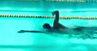 """Manuel Bortuzzo torna a nuotare e scrive a Paltrinieri e Detti: """"Vi sfido in un 50 stile"""""""