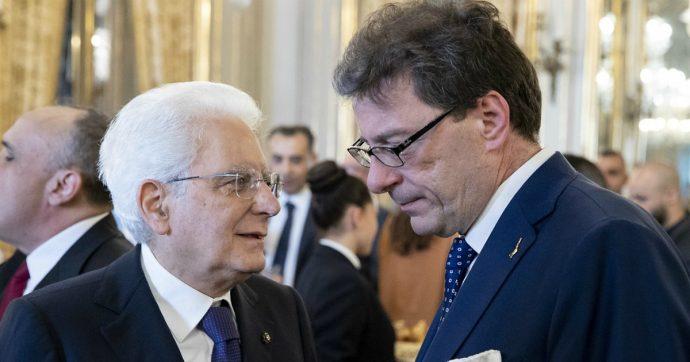 """Commissione Ue, Giorgetti va da Mattarella per comunicare la rinuncia a commissario Ue. Von der Leyen: """"Italia sott'occhio"""""""