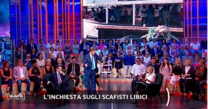 Quarta Repubblica, cosa succede al pubblico seduto alle spalle di Nicola Porro?