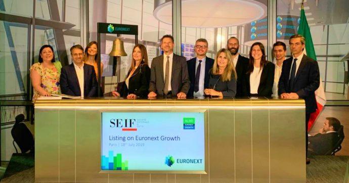 SEIF – Società Editoriale Il Fatto si è quotata in Borsa a Parigi