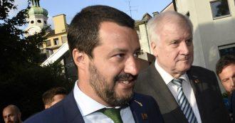 """Governo, Salvini: """"Nessuna crisi, ho fiducia in Di Maio. Ma blocchi inaccettabili dai ministri Toninelli e Trenta"""""""