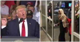 """Trump attacca la deputata nera: """"Via dagli Usa"""". Lei arriva a Minneapolis e viene accolta così"""