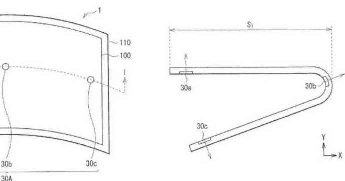 Sony brevetta uno schermo flessibile per smartphone. Gli Xperia diventeranno pieghevoli?