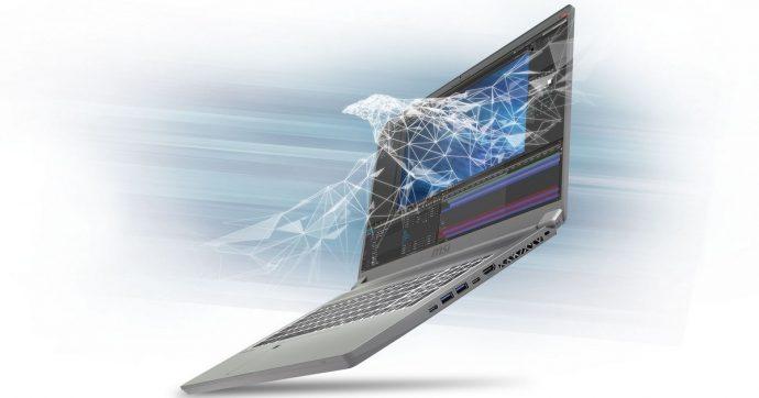 MSI Prestige P75 Creator è il notebook per i professionisti della creatività