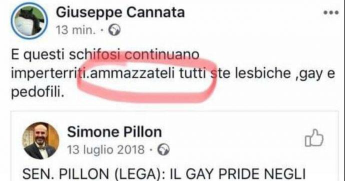 """Vercelli, consigliere comunale di FdI su Facebook: """"Ammazzateli tutti ste lesbiche, gay e pedofili"""". Arcigay chiede le dimissioni"""