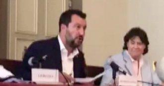 """Governo, Salvini: """"Futuro? Siamo nelle mani di Dio. Non ho appuntamenti con Di Maio"""""""