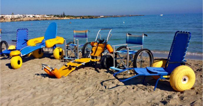 Vacanze con un familiare non autosufficiente, da San Foca al lago d'Orta ecco le strutture gratuite dove si può fare il bagno