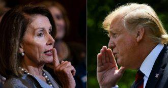 """Trump, scontro con Pelosi sul voto per posta. Lui parla di """"brogli"""" e taglia i servizi, la speaker convoca i deputati: """"Una legge per impedirlo"""""""
