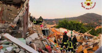 Isola d'Elba, esplode palazzina nella notte: morti marito e moglie settantenni, tre feriti con ustioni