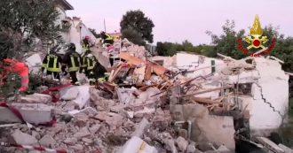 Isola d'Elba, crolla una palazzina a Portoferraio. Tre persone estratte vive, due morti