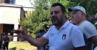 """Salvini a Bibbiano: """"Perché tribunali dei minori non vanno nei campi rom a portare via quei bambini? Con famiglie italiane sono implacabili"""""""