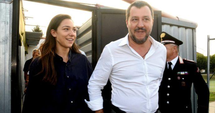 """Matteo Salvini e Francesca Verdini fotografati al mare: """"Una storia che brucia di passione"""""""