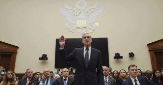 """Russiagate, procuratore Mueller alla Camera: """"Il rapporto non scagiona del tutto Trump. È possibile incriminarlo a fine mandato"""""""