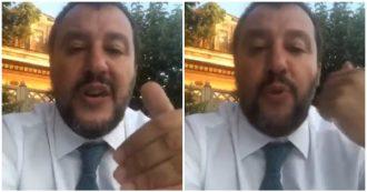 """Governo, Salvini a Conte: """"No ad altre maggioranze raccolte come i funghetti del Trentino, no a giochi di palazzo"""""""