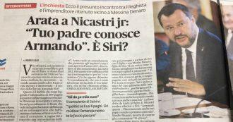 """Caso Siri, Vito Nicastri: """"Mi sembra di averlo conosciuto a un pranzo a casa di Arata"""""""