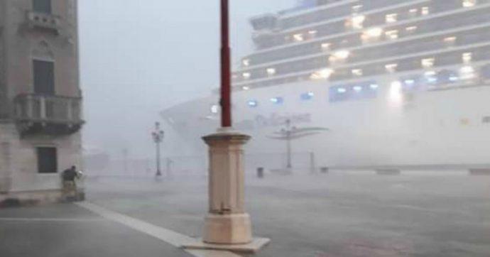Venezia, nave da crociera sbandò per maltempo: comandante indagato