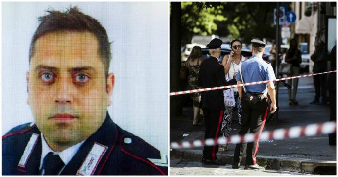 """Carabiniere ucciso a Roma, l'autopsia sul corpo di Cerciello: """"Gran parte dei colpi hanno reciso organi vitali: cuore, stomaco e polmoni"""""""