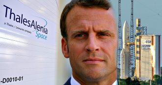 Spazio, il piano di Macron per la leadership Ue: 3,6 miliardi e fusione Airbus-Thales. Italia ha due strade per non essere ridimensionata