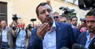 """Manovra, Salvini: """"Se Tria dice che di taglio tasse non se ne parla, problema sono io o è lui"""""""