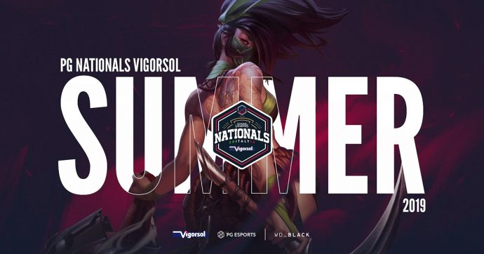 League of Legends: Outplayed e Sparks si contendono il titolo italiano alle finali dei PG Nationals Vigorsol