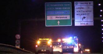 L'ultima notte di Linate, bus e attrezzature traslocano a Malpensa per tre mesi