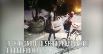 """Carabiniere ucciso a Roma, la telefonata di Brugiatelli al 112: """"Mi hanno rubato la borsa"""""""