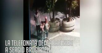 """Carabiniere ucciso a Roma, Brugiatelli nella seconda telefonata: """"Li ho visti scappare"""""""