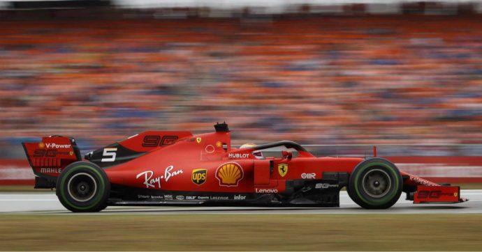 Sebastian Vettel, rimonta storica: nel Gp di Germania il ferrarista parte ultimo e arriva secondo dietro Verstappen