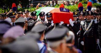"""Carabiniere ucciso a Roma, folla ai funerali nella chiesa delle nozze. Nistri: """"Le polemiche non siano la 12esima coltellata"""""""