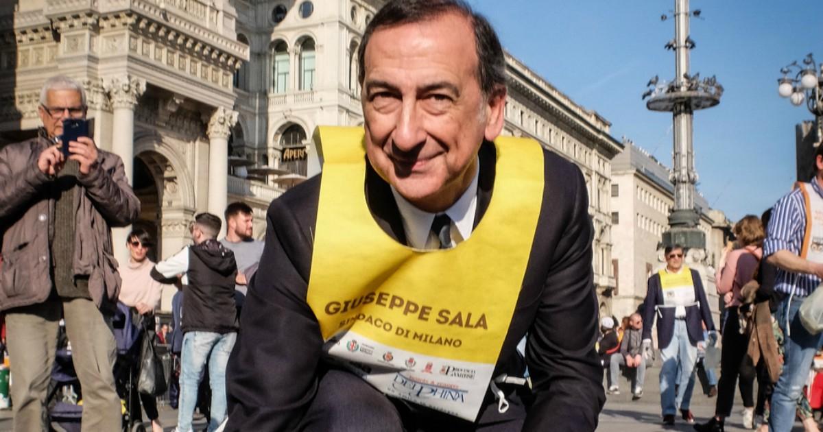 Milano, Beppe Sala ora si concentra sul greenwashing. Peccato che non pedali