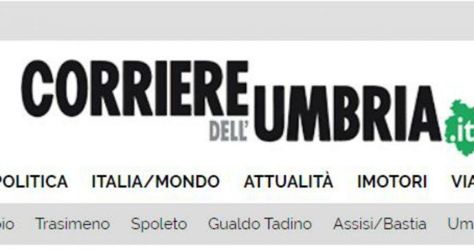 """Perugia, pietre contro la sede del Corriere dell'Umbria: """"Probabile atto intimidatorio"""""""