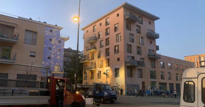 Torino, completato lo sgombero dell'ex Moi. All'interno dei due edifici risiedevano da anni 350 persone, in prevalenza migranti