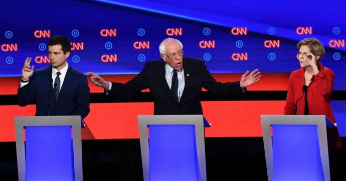 Usa, dibattito democratici in tv: dalla sanità all'immigrazione, il partito è diviso tra progressisti e moderati