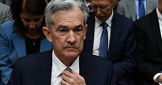 """Banche centrali, la Fed comprerà titoli di Stato per 60 miliardi di dollari al mese. Powell: """"Non è nuovo quantitative easing"""""""