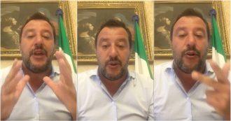 """Salvini: """"Migranti non saranno a carico dei cittadini italiani. Nelle prossime ore darò ok allo sbarco"""""""