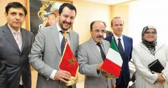 """Salvini e Savoini insieme in Marocco nel 2016. La storia dei 150mila euro consegnati dal lobbista del re e salvati dalla """"turca"""""""