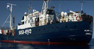 """Migranti, i 156 salvati dalla Alan Kurdi saranno trasferiti su un'altra nave. Ministero: """"Non possiamo sbarcarli, Italia in emergenza"""""""