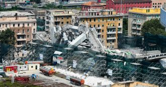 """Ponte Morandi, i periti del tribunale: """"Grado elevato di corrosione"""" e """"manutenzione inefficace"""". Fili consumati """"fra il 50 e il 100%"""""""
